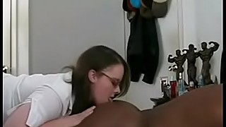 Chubby wife loves big black cock