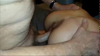 77yo fucking my wife doggy style and cums inside her-porn 60
