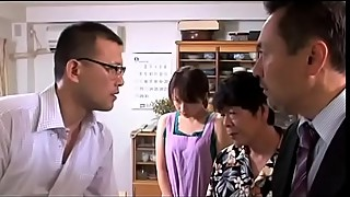 Japanese housewife gets fucked on the eyes of her husband (full): shortina.com/vmlf)