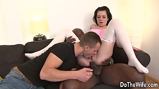 So you have a wife inga devil gets her asshole stretched with a big black dick