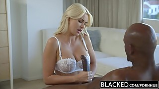 In turn, a wife gigi allens takes her first big black cock