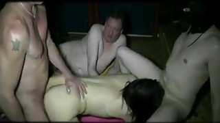 Girl playing gangbang with strangers from webcamgirlonline.com