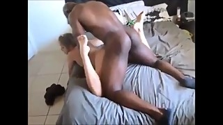 Cheating wife loves that big black cock