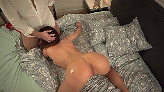 My hot horny wife loves to masturbate and watch porn-videos - 4k