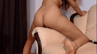 Skinny woman double penetration