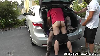 This horny wife knows how to have fun with strangers!