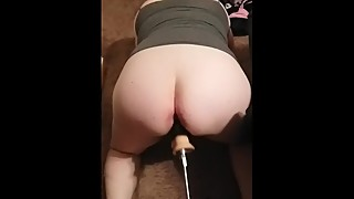 Housewife fucked by machine, big black cock studies, and in style!