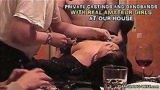 Private home gangbangs and sex parties