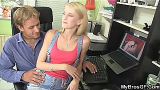 Czech blonde gf cheating