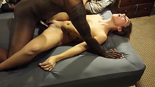 Cuckold filming his wife, a national of a black boner