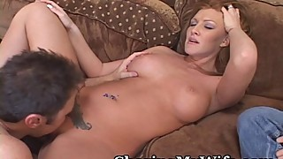 Redhead wife getting fucked by another