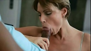 Babe skinny twat licked and stuffed with his big black cock
