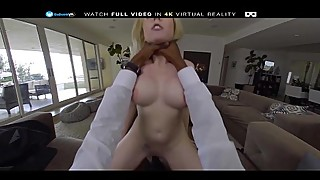 Badoink on his big black cock in horny housewife christie stevens in porn