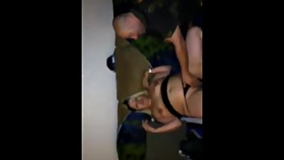 Wife shared husband records her pussy eaten by stranger
