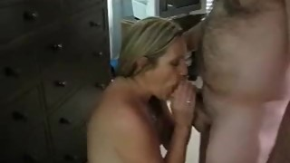 Hot woman and her man have fun, the penis large