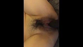 My asian wife by a big black cock