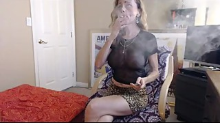 Smoking is also a story about singing wife cuckold confession-smith smoke on 420