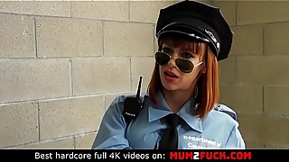 Sexy cougar alexa rank, the nova in a police uniform, cheating on her husband with the two prisoners