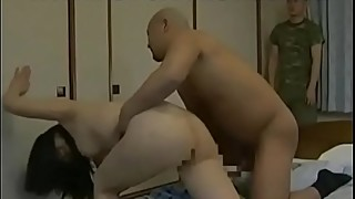 A japanese woman is about to get fucked