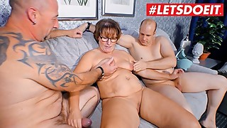 Letsdoeit-german mature wife shared by husband and stranger